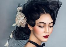 最新影樓資訊新聞-復古手推波紋造型 打造復古俏麗新娘
