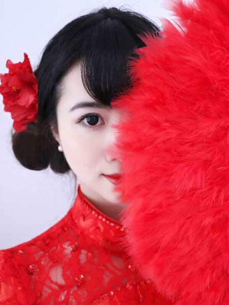 中式新娘妆的画法步骤图解 将美丽发挥到极致