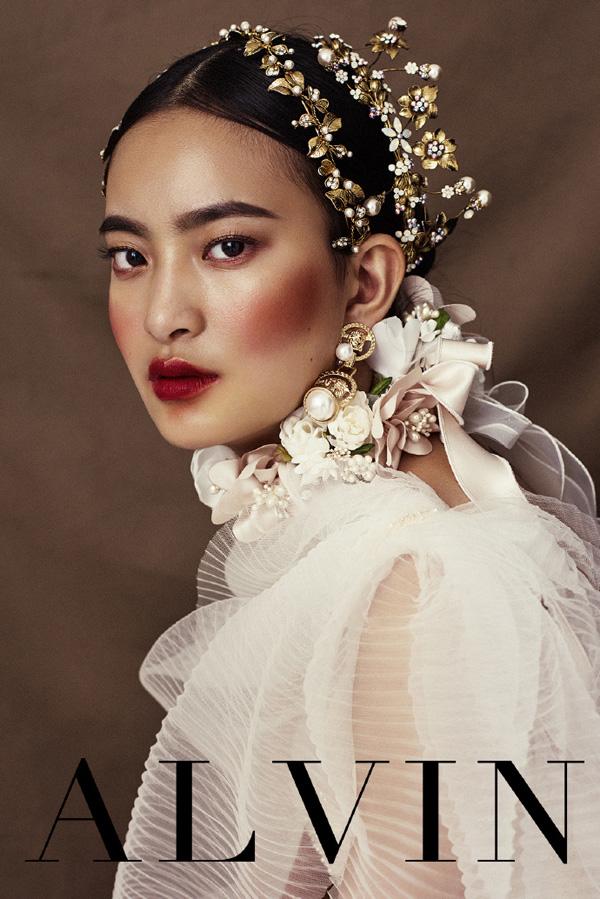 时尚复古巴洛克风造型 成就新娘新潮流_妆面赏析_影楼