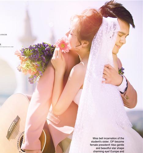 旅拍小清新 婚纱照