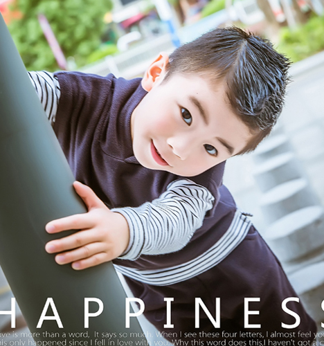 街拍酷小子 儿童摄影