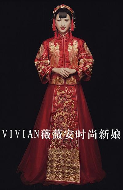 古典韵味 多款中国新娘造型欣赏图片