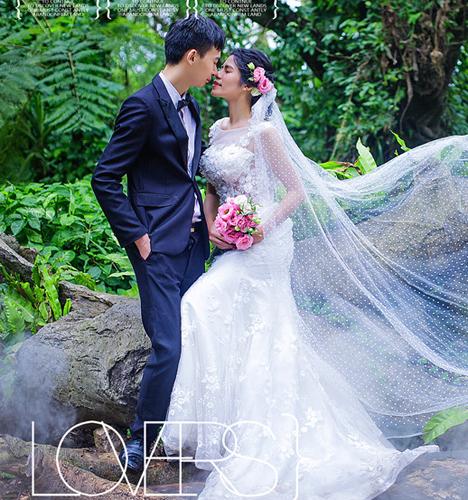 植物园 婚纱照