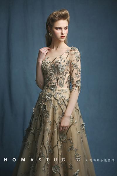 希腊风新娘 打造雅典女神浪漫唯美_妆面赏析_影楼化妆图片