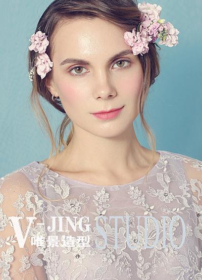 欧美新娘妆造型 打造梦幻异国婚礼