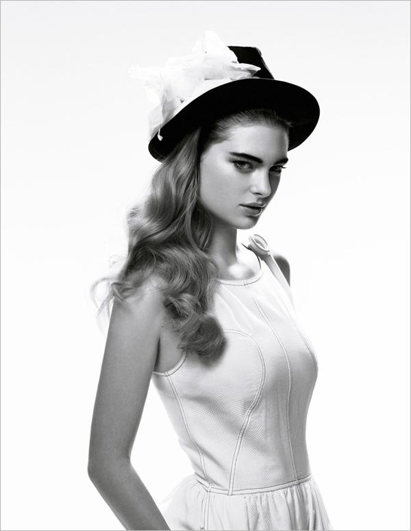 用镜头说话 看摄影师如何拍摄黑白时尚大片