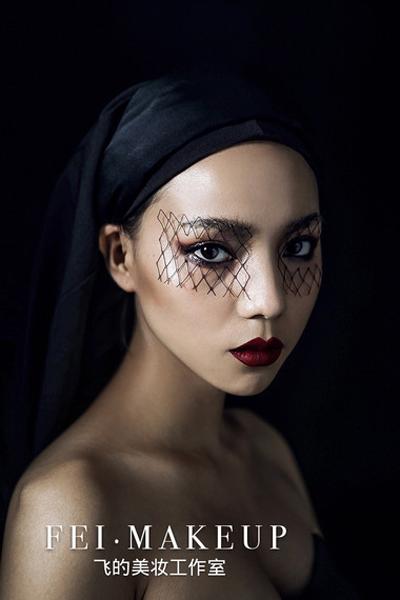 创意新娘妆 个性时尚魅力无限图片