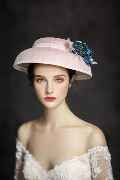 欧式轻复古新娘造型 带你淡淡地怀旧图片