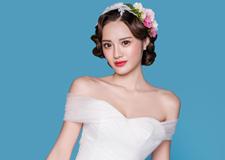 最新影樓資訊新聞-復古手推波紋新娘造型 流露出濃重的**典雅氣質