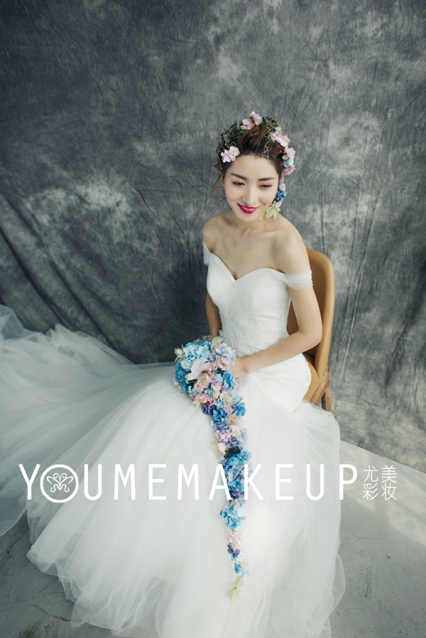 鲜花新娘造型 甜美与浪漫的碰撞