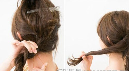 韩式最新典雅气质新娘发型步骤
