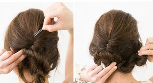 韩式最新典雅气质新娘发型步骤 打造韩国精致优雅的新娘