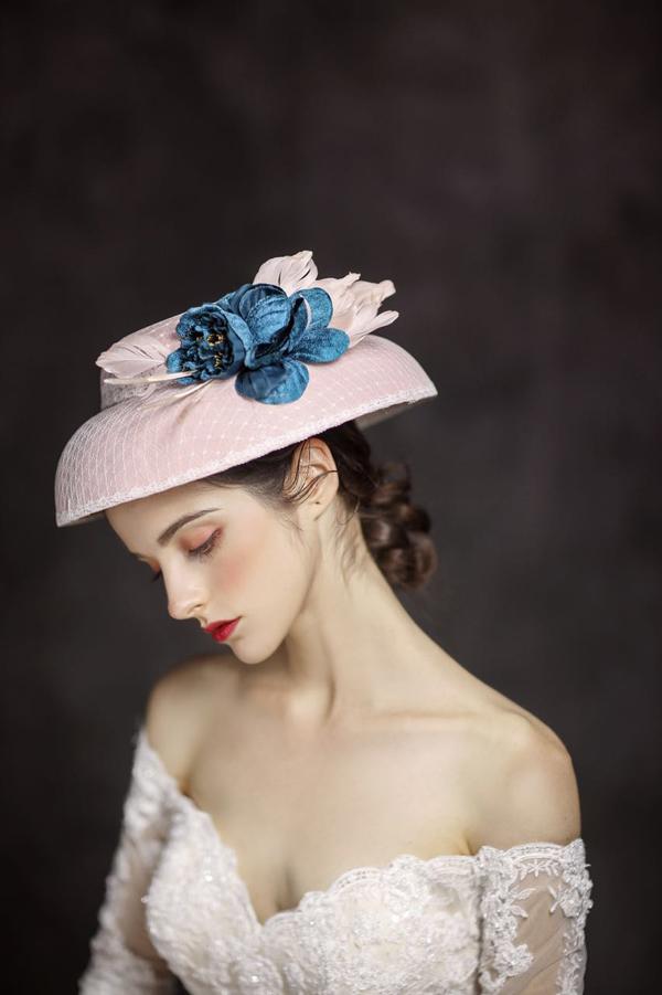 欧式复古新娘造型 充满法式的浪漫与优雅