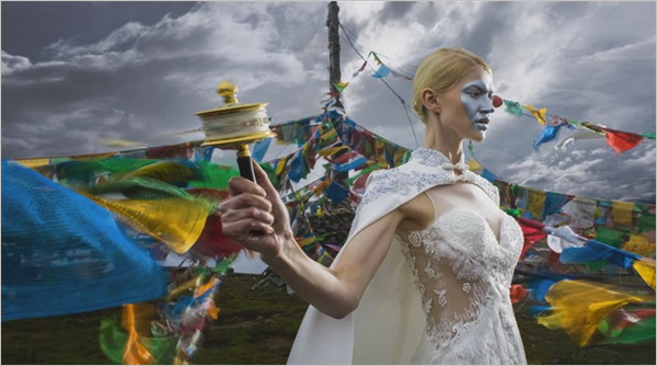 文化交融更带感 摄于云南的婚纱人像