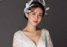 新娘造型 羽毛发饰唯美仙气十足