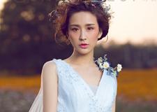 仙气十足的空气感新娘造型 展现脱俗气质
