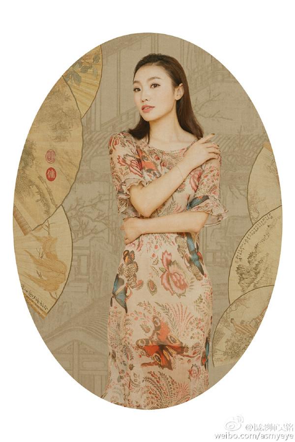 摄影师吴铭中国风工笔画后期摄影作品欣赏