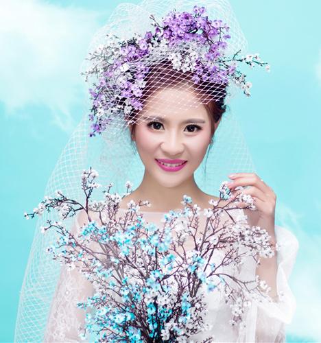 蓝色爱之旅 婚纱照