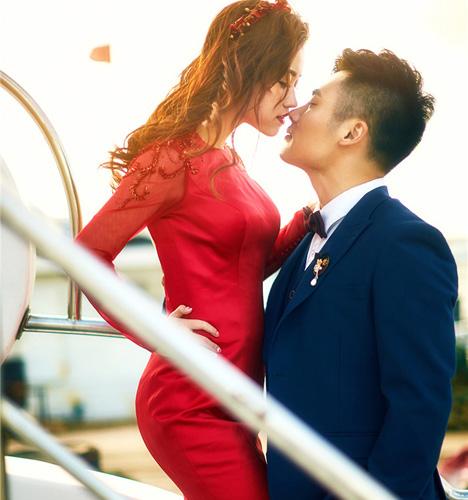 幸福时刻 婚纱照