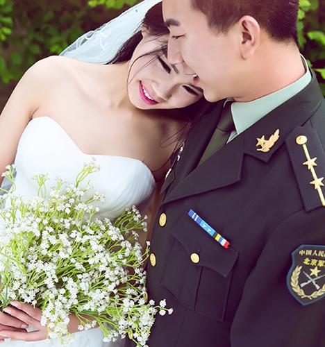 记忆中的感觉 婚纱照