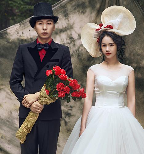 阿洛瓦爵士 婚纱照