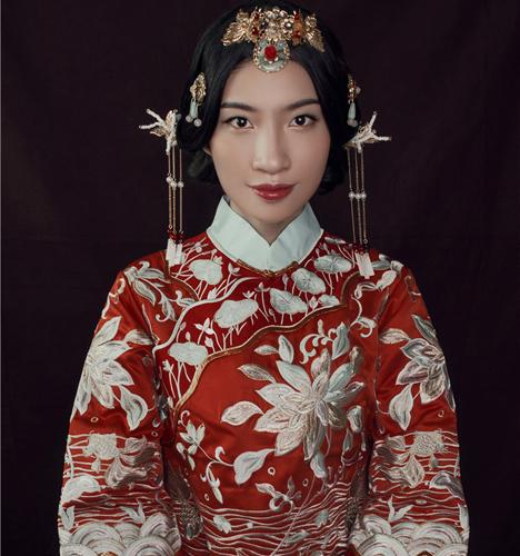 时尚中式新娘 化妆造型