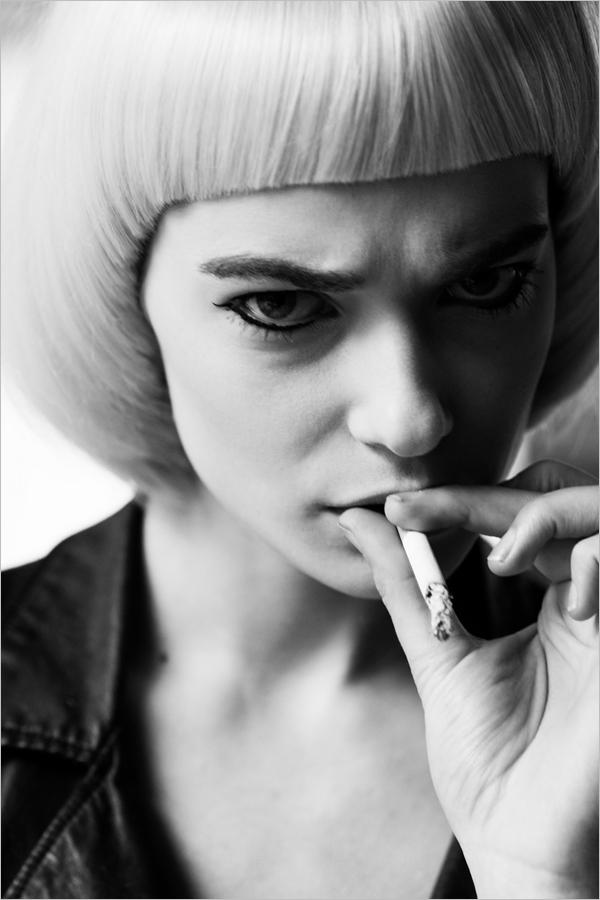 黑白肖像摄影 不要怪模特不够美摄影大师能把山鸡拍成