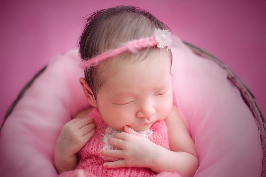 粉嫩的小可爱
