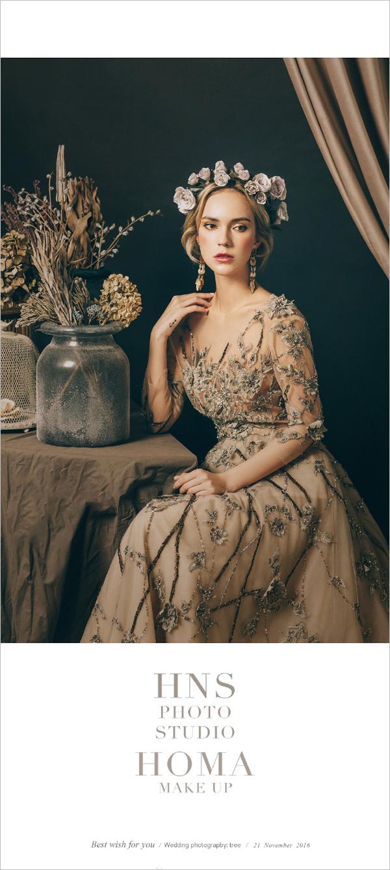 欧式新古典主义新娘造型 尽显高冷范图片