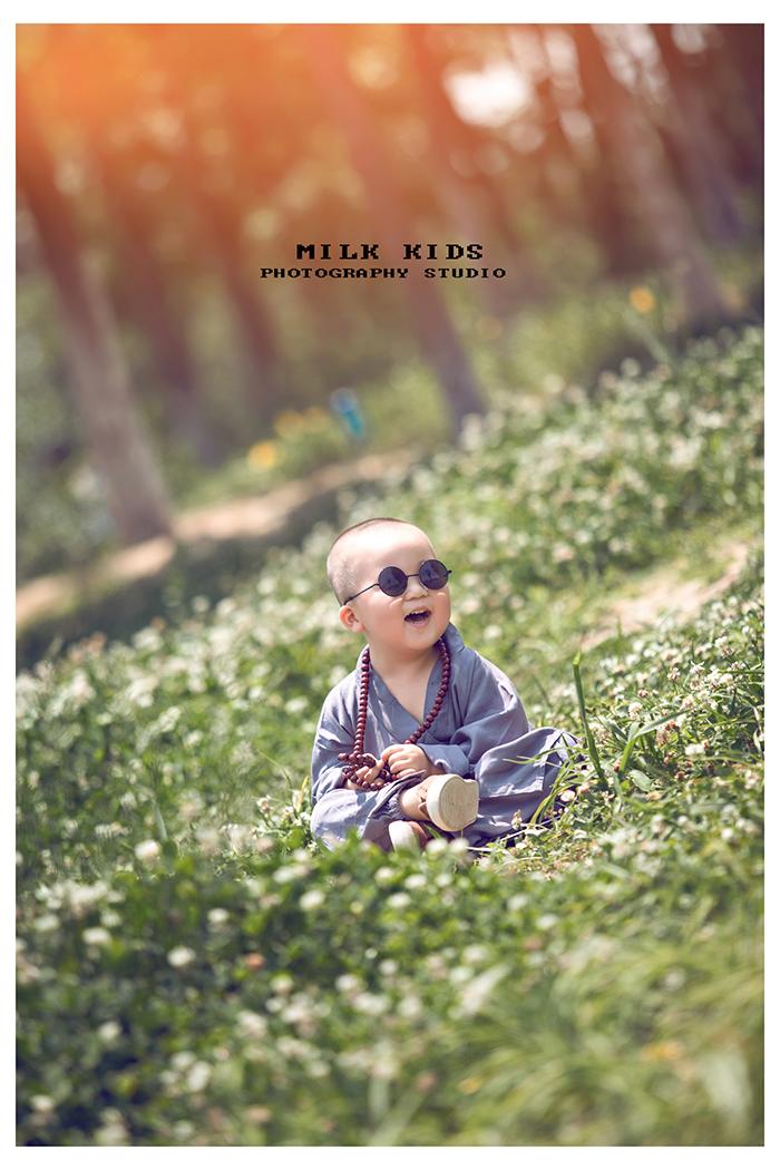 儿童小和尚图片大全-小和尚头像图片大全-中国最小和尚图片大全-一禅