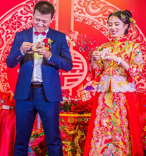 幸福而感动的婚礼 婚礼摄影