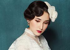 最新影樓資訊新聞-精致復古手推波紋造型 襯托出新娘的優雅