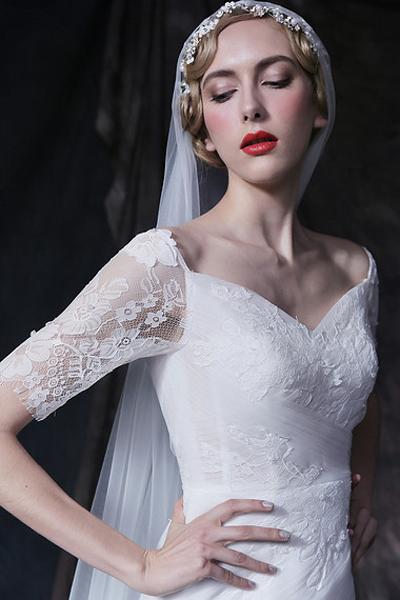 创意北欧新娘妆面 神圣浪漫且有灵性