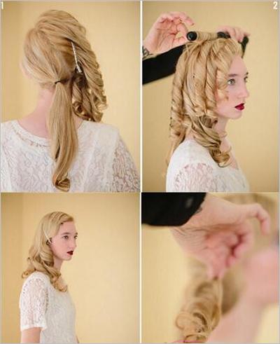 教你两款新娘发型 步骤简单高贵大气