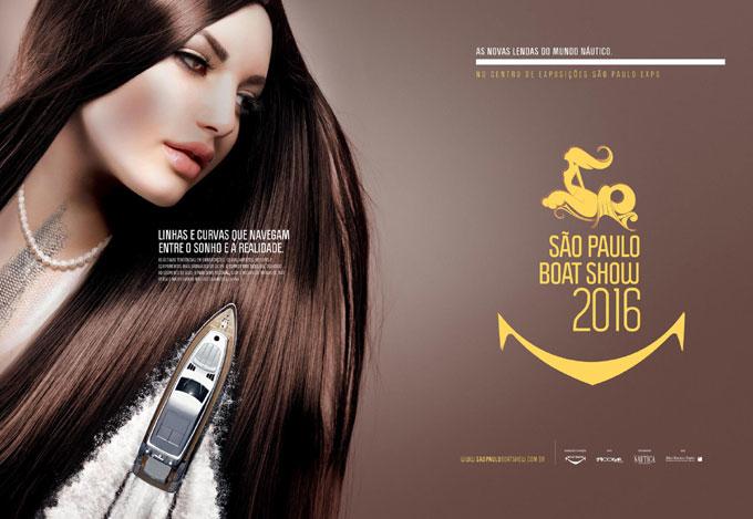 广告平面设计作品:巴西圣保罗船展