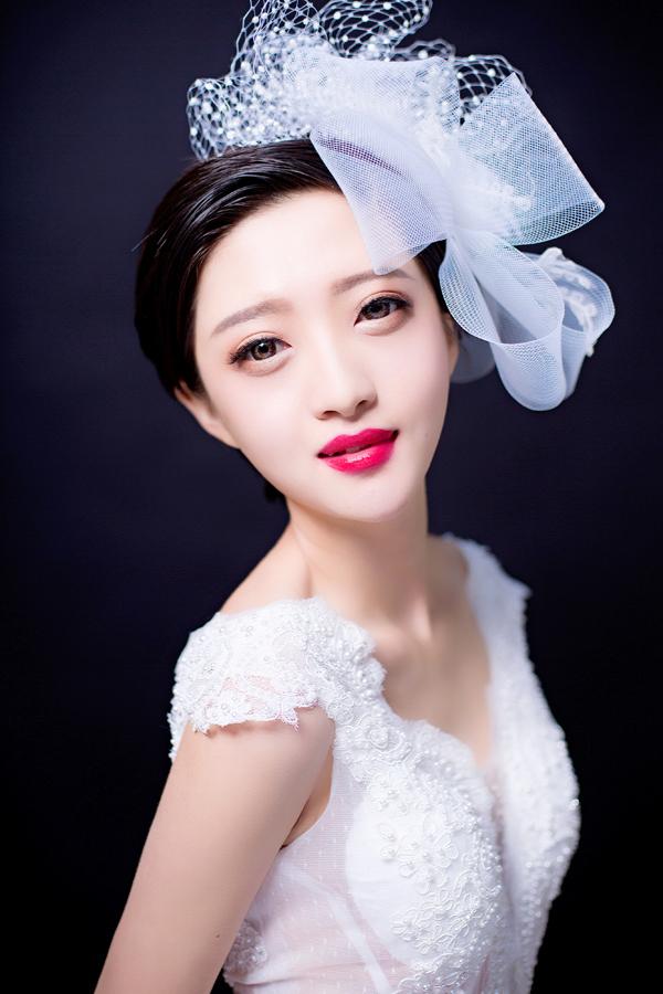 爱与美的触动 打造仙美灵动的新娘妆容