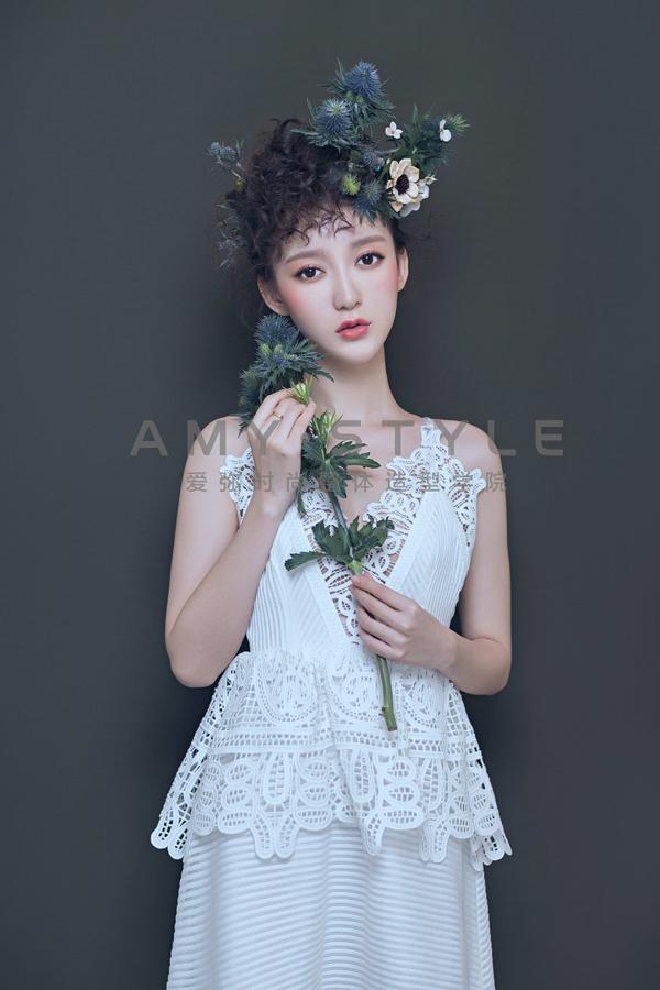 浮生花开 创意新娘造型欣赏