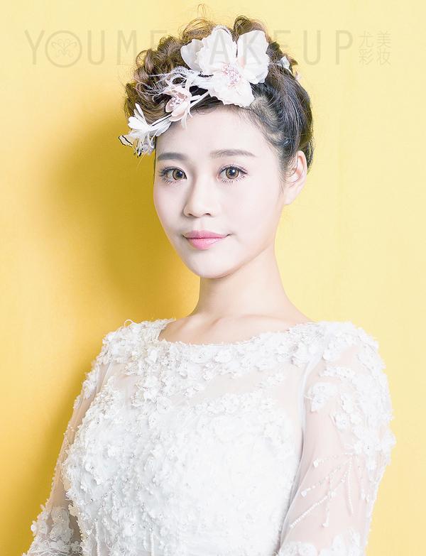 韩式小清新新娘发型 展现清纯可爱的美