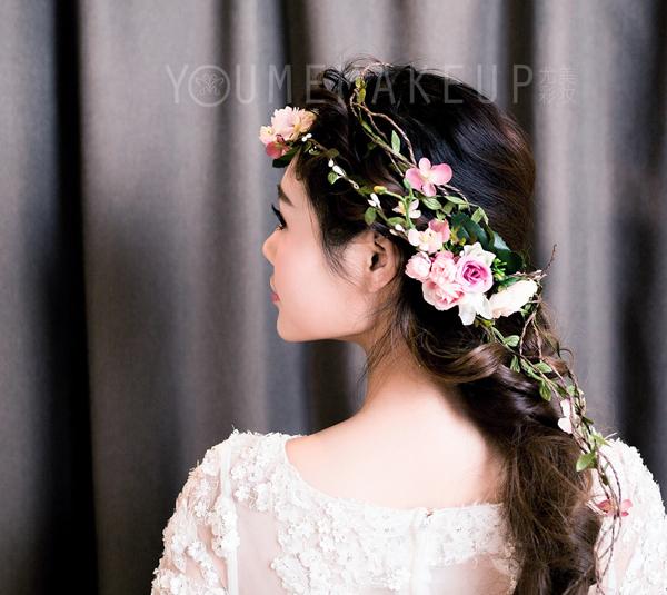 韩式小清新新娘发型 展现清纯可爱的美(2)