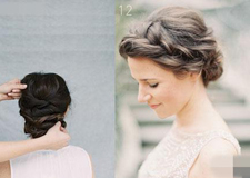 漂亮伴娘法国辫子造型教程 尽显甜美公主范