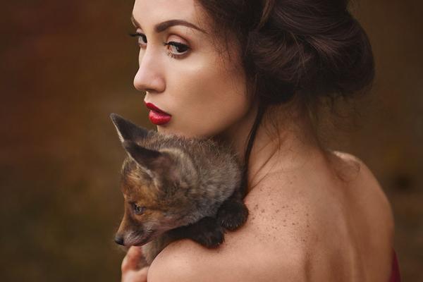 Nina Wild摄影作品_另类情绪人像摄影