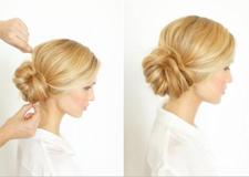 DIY简单气质侧盘发教程 打造自然不造作的优雅新娘发型