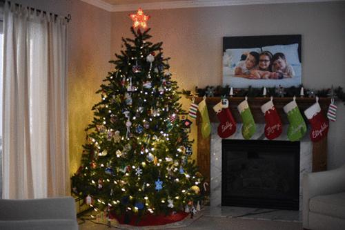 圣诞树不能少 简单小技巧让你拍出完美的圣诞美照