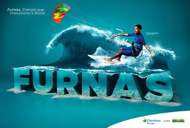 主题平面海报设计作品:巴西furnas体育