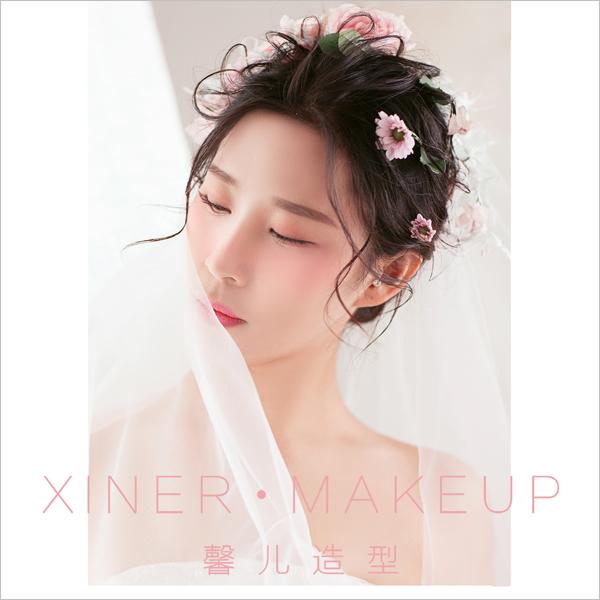唯美韩式新娘发型 演绎浪漫公主梦_妆面赏析_影楼化妆
