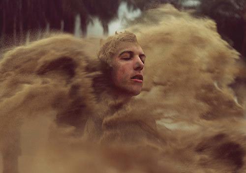 创意摄影欣赏 天才摄影师Kyle Thompson黑色梦境人像