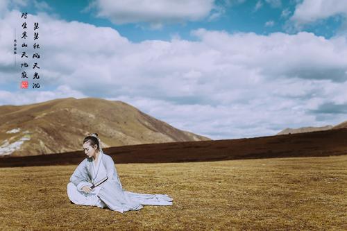 唯美大气的古风诗意人像摄影