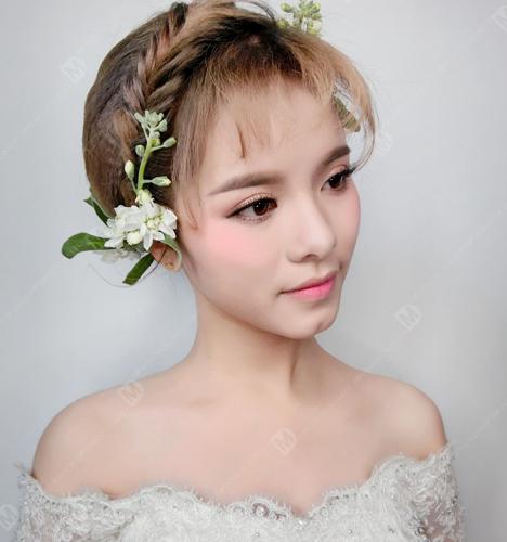 帝梦百搭新娘造型 化妆造型