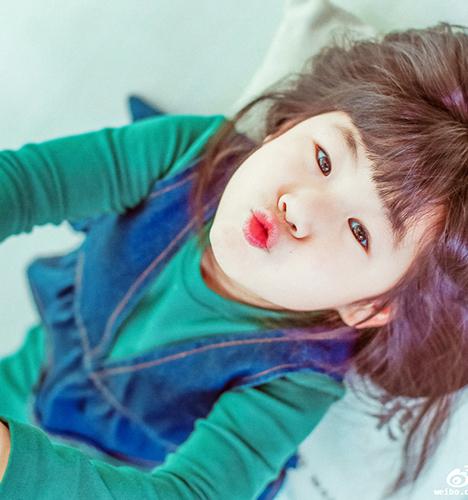 芒果少女 儿童摄影