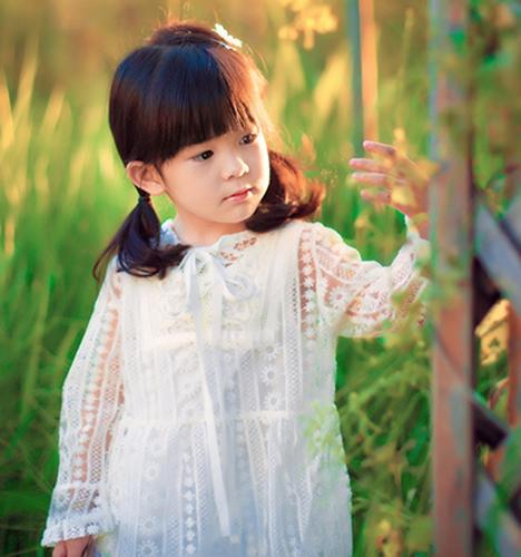 秋天画意 儿童摄影